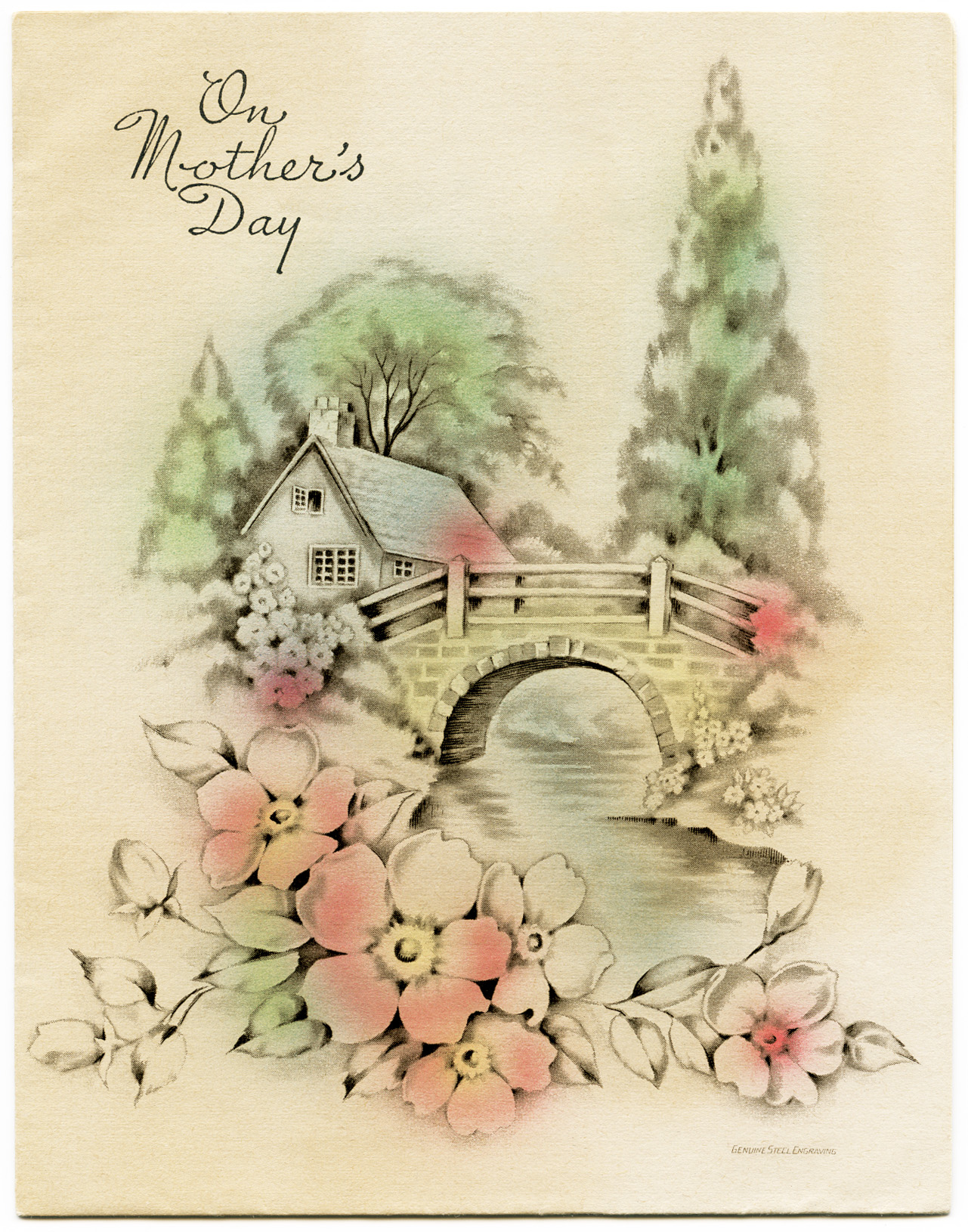 Mother S Day Nail Art Pancreatic Cancer Awareness: Free Vintage Illustrations