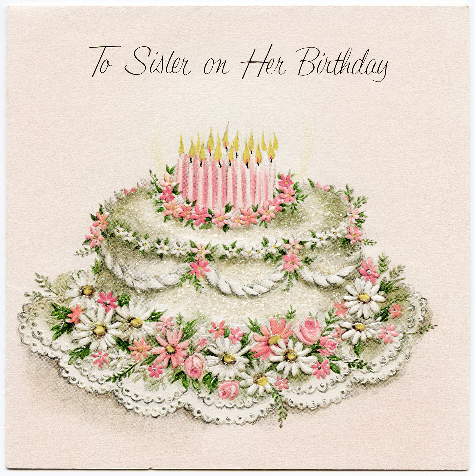 Birthday | Free Vintage Illustrations