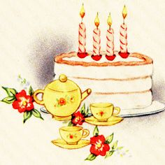Birthday Free Vintage Illustrations