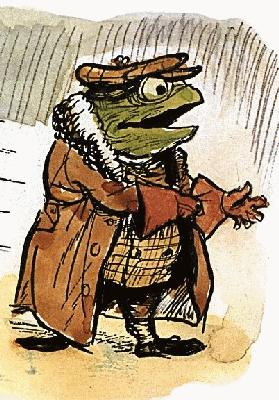 public domain frog illustration 21