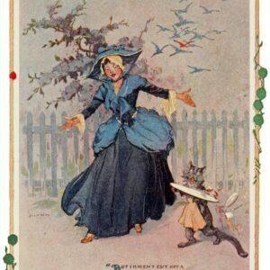 public domain vintage color book 13 illustration emerald city of oz