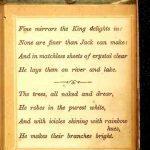 free public domain christmas book, King winter. Antique public domain image.