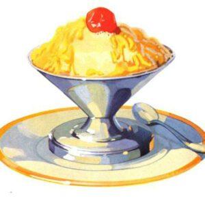 antique ice cream illustrations in public domain image 31