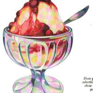 antique ice cream sundae illustrations in public domain image 81