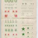 free vintage christmas graphics and typography in the public domain