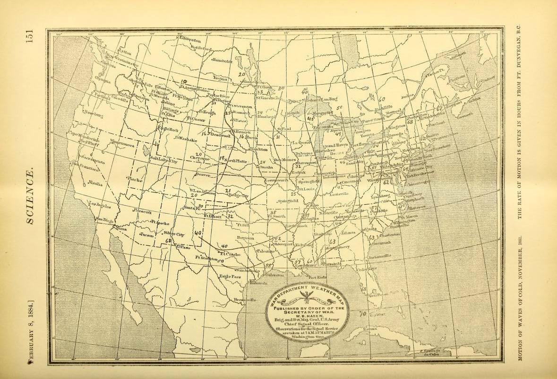 A vintage scientific illustration of an antique ocean map