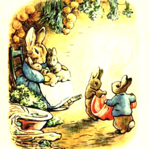 free vintage illustration of beatrix potter benjamin bunny 13