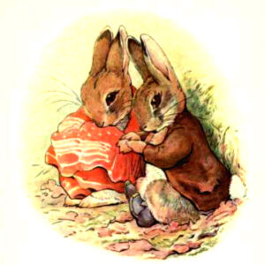 free vintage illustration of beatrix potter benjamin bunny 6