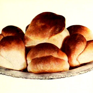 vintage bread rolls illustrations