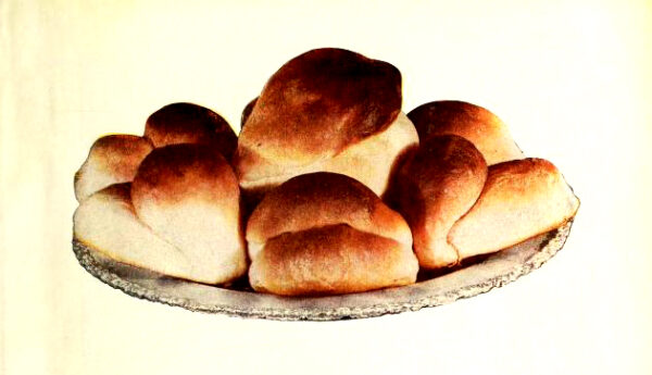 vintage bread rolls illustrations