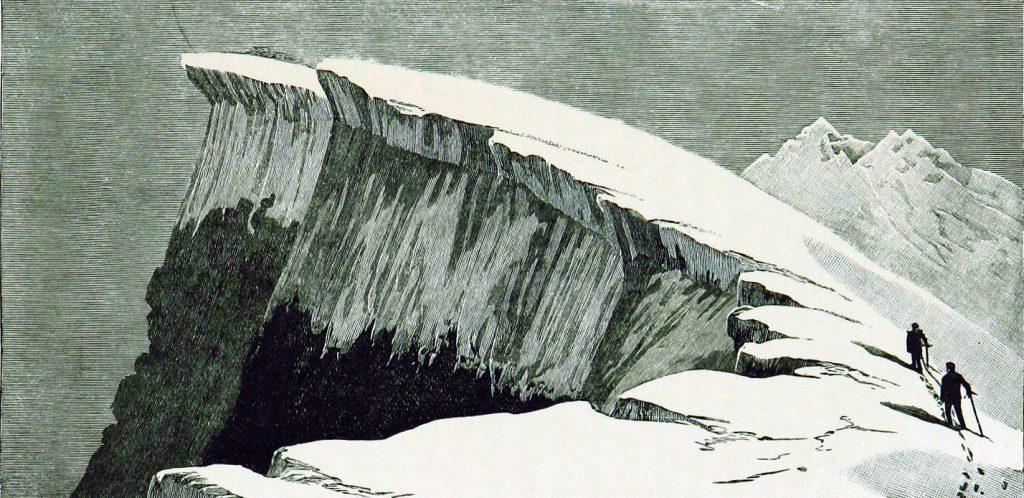 Public domain iceberg illustrations of 19th century arctic voyages