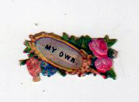 19th century mini valentines day pictures diecut