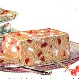 vintage jello cookbook paradise pudding