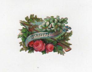 sincerity valentines day die cut