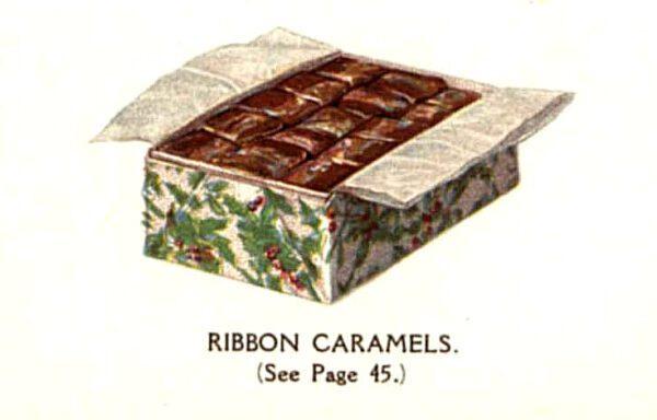 vintage boxed chocolates