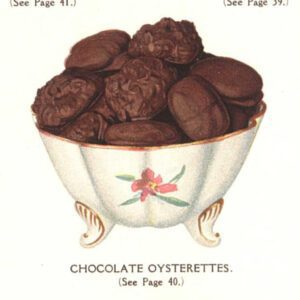 vintage chocolate covered crackers