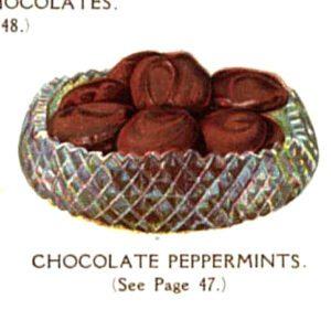 vintage chocolate peppermint patties