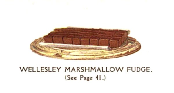 vintage classic marshmallow fudge