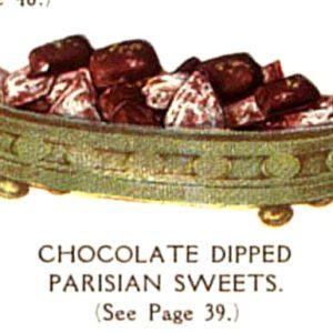 vintage french chocolates