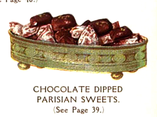 vintage french chocolates