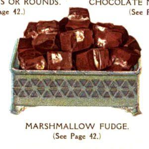 vintage marshmallow fudge