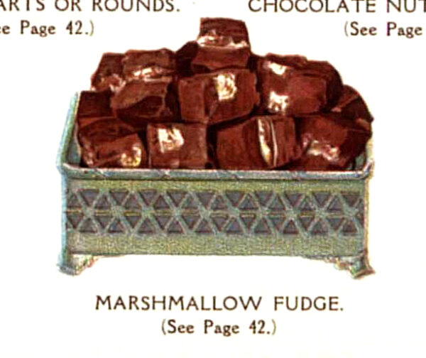 vintage marshmallow fudge